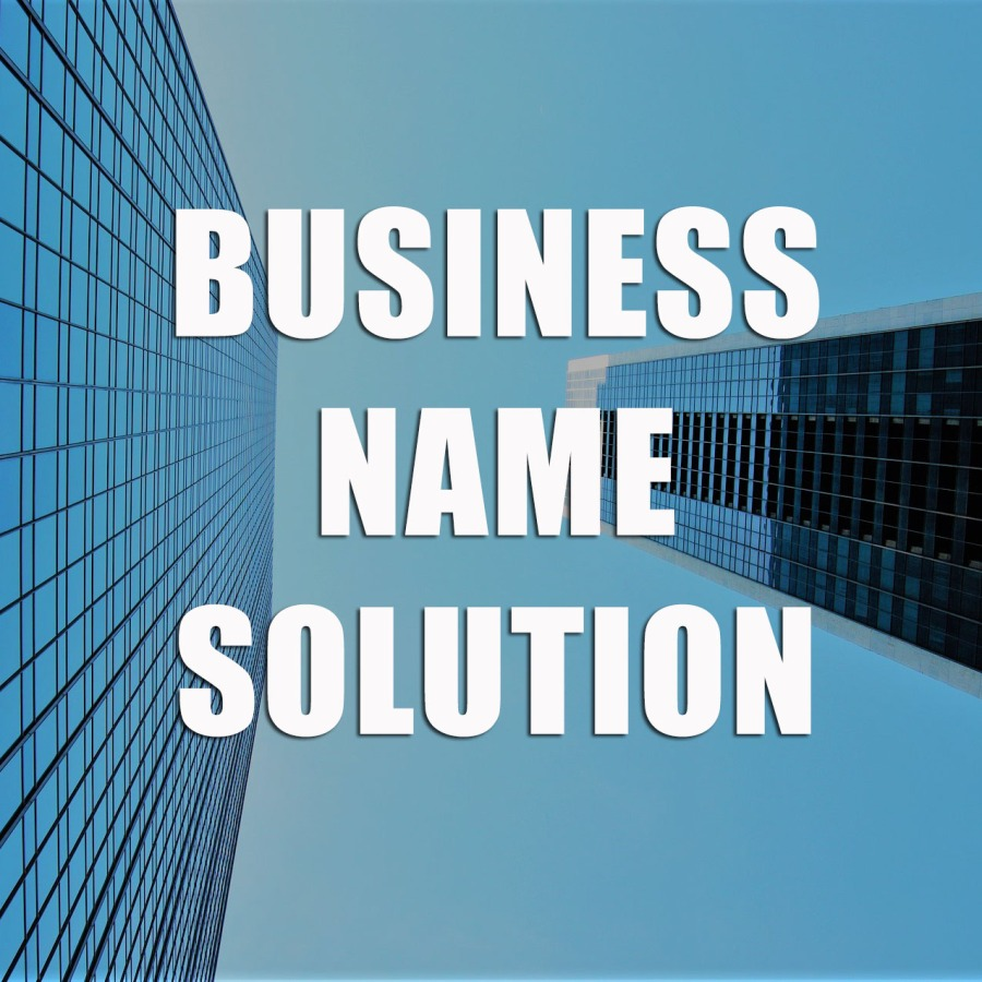 business Chinese name solution
